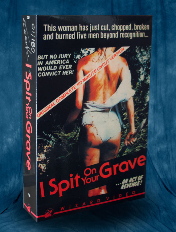 I Spit On Your Grave Box Art