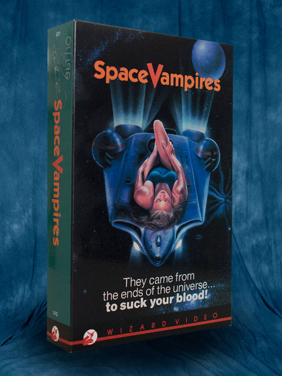 Space Vampires Box Art