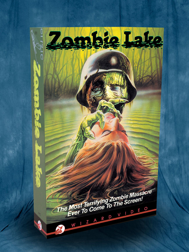 Zombie Lake Box Art